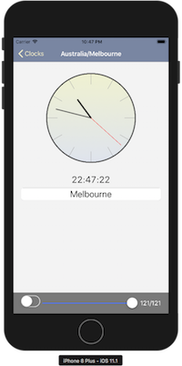 - clocks2 - View-state driven applications