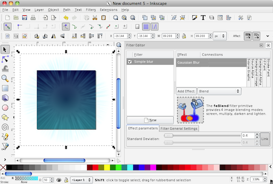 Creating iPhone and Mac icons using Inkscape (Part 1 of 2)