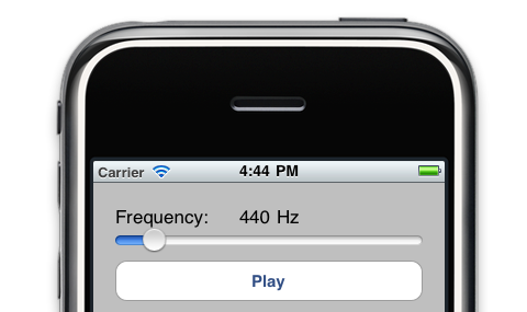 An iOS tone generator (an introduction to AudioUnits)